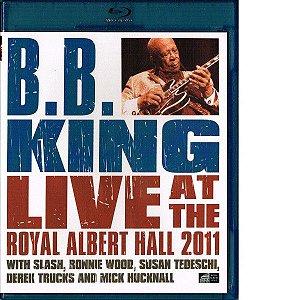 Blu-ray - B.B King - Live At The Royal Albert Hall 2011 ( Lacrado - Promo)