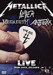 BD - Metallica, Slayer, Megadeth & Anthrax – The Big 4: Live From Sofia, Bulgaria ( Lacrado - Promo) 2 DVDs