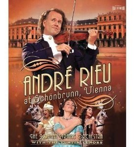André Rieu & Johann Strauss Orchestra -  With The Platin Tenors ‎– At Schönbrunn, Vienna (Novo)