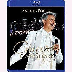 Blu-ray  - Andrea Bocelli – Concerto: One Night In Central Park - ( NOVO )