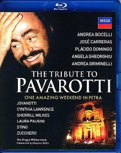 BD - Tribute to Pavarotti - One Amazing Weekend in Petra ( NOVO)