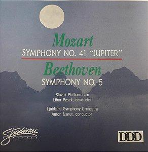 "Mozart: Symphony No.41 ""Jupiter"" / Beethoven: Symphony No.5"