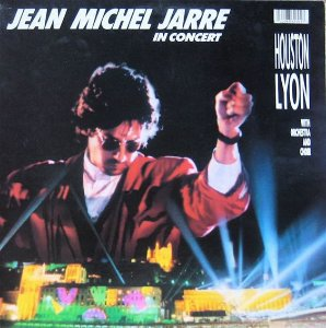 LP - Jean Michel Jarre‎– In Concert / Houston-Lyon