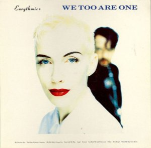 LP - Eurythmics ‎– We Too Are One