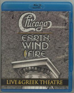 Chicago And Earth, Wind & Fire ‎– Live At The Greek Theatre