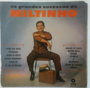 CD - Miltinho – Os Grandes Sucessos De