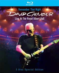 David Gilmour ‎– Remember That Night (Live At The Royal Albert Hall) - (Digipack)