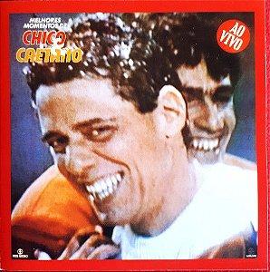 CD - Chico Buarque & Caetano Veloso – Melhores Momentos De Chico & Caetano