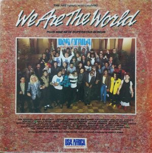 LP - USA For Africa ‎– We Are The World