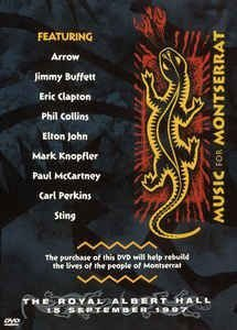 DVD - MUSIC FOR MONTSERRAT (Vários Artistas) - Lacrado