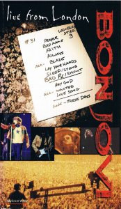 DVD - Bon Jovi ‎– Live From London