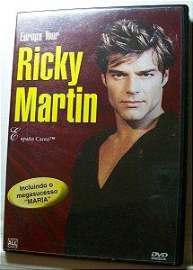 DVD RICKY MARTIN : EUROPA TOUR - ESPAÑA CANTÓ