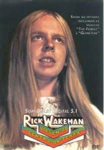 DVD - Rick Wakeman – Viagem Ao Centro Da Terra