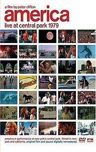 DVD - AMERICA - LIVE IN CENTRAL PARK 1979