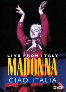 DVD - Madonna – Ciao Italia: Live From Italy