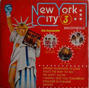 LP - Various ‎– New York City Discotheque 3