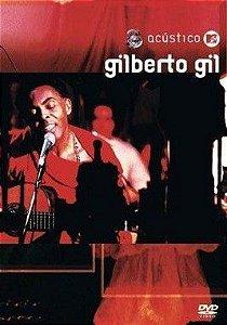 DVD - Acústico MTV - Gilberto Gil  (Promoção Colecionadores Discos)