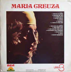 LP - Maria Creuza (Coleção Linha 3 - Disco De Ouro)