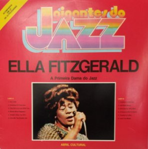 LP - Ella Fitzgerald – A Primeira Dama Do Jazz