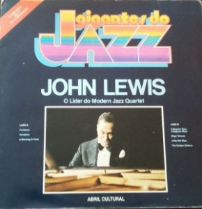 LP - John Lewis ‎– O Líder Do Modern Jazz Quartet