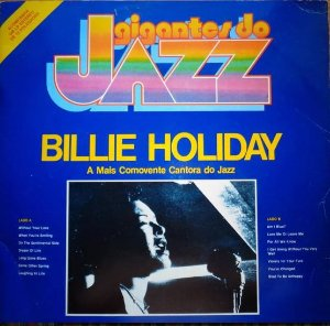 LP  - Billie Holiday ‎– A Mais Comovente Cantora Do Jazz