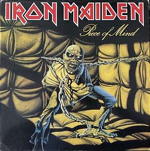 LP - Iron Maiden – Piece Of Mind (Novo - Lacrado) (Importado EU)