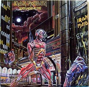 LP - Iron Maiden – Somewhere In Time