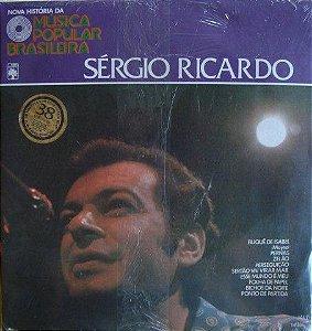 LP - Sérgio Ricardo (Coleção Nova História Da Música Popular Brasileira) (Vários Artistas)
