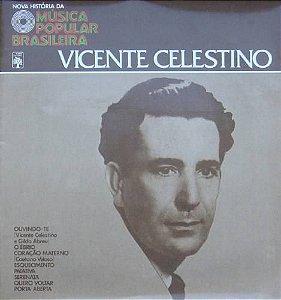 LP - Various – Nova História Da Música Popular Brasileira - Vicente Celestino