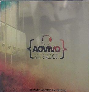 CD - Ministério Ao Vivo - Música + Palavra - In Studio
