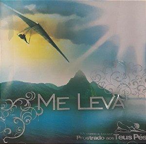 CD -Ministério de Louvor Prostrado Aos Teus Pés - Me Leva
