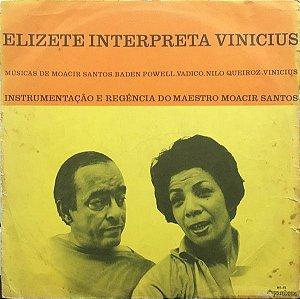 LP - Elizeth Cardoso – Elizete Interpreta Vinicius