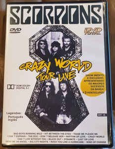 Scorpions ‎– Crazy World Tour Live
