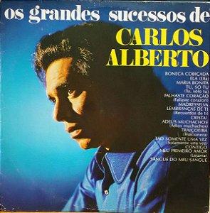 LP - Carlos Alberto – Os Grandes Sucessos de Carlos Alberto