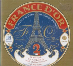 CD - Various - France D'or - 15 Sucessos de Ouro da Música Francesa