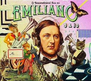 CD - Hotel Emiliano, 9 & 10  - DIGIPACK - CD DUPLO (Vários Artistas)