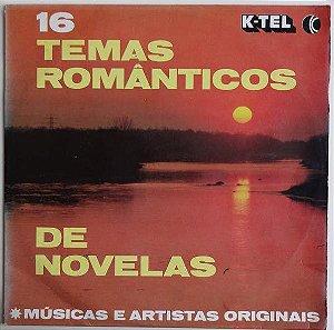 Various – 16 Temas Românticos De Novelas