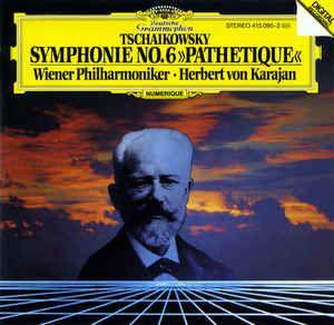 Tschaikowsky* / Wiener Philharmoniker / Karajan* – Symphonie No.6 »Pathetique«