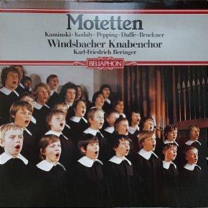 Heinrich Kaminski, Zoltán Kodály, Ernst Pepping, Helmut Duffe, Anton Bruckner – Motetten. Windsbacher Knabenchor