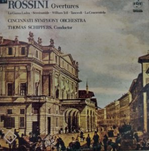 Rossini Overtures - Cincinnati Symphony Orchestra, Thomas Schippers Conductor