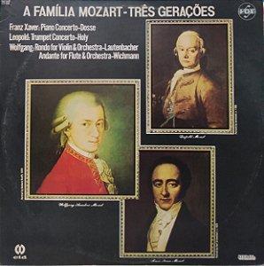 LP - A Família Mozart - Três Gerações