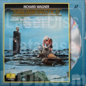LD - Richard Wagner - Das Rheingold (Lacrado) - Ld duplo - BOX