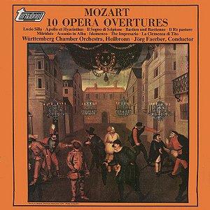 Mozart, Württemberg Chamber Orchestra, Heilbronn, Jörg Faerber – 10 Opera Overtures