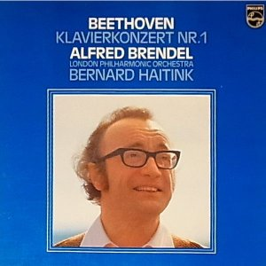 Beethoven - Alfred Brendel, London Philharmonic Orchestra* And Bernard Haitink ‎– Piano Concerto No.1