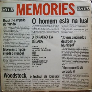 LP - Various ‎– Memories