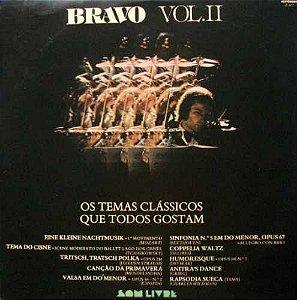 LP - Bravo Vol. II - Os Temas Clássicos Que Todos Gostam (Vários Artistas)