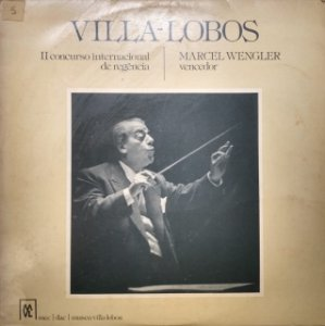 LP - VILLA-LOBOS - II CONCURSO INTERNACIONAL DE REGENCIA