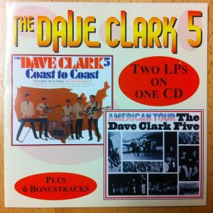 CD - The Dave Clark Five – American Tour / Coast To Coast - IMP