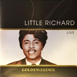 CD - Little Richard ‎– Golden Legends: Live - IMP.