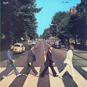 LP - The Beatles ‎– Abbey Road - 1969 - Mono